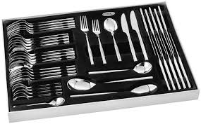 Stellar Kitchen Knives by Rochester 44 Piece Cutlery Set Bl58