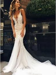 backless lace wedding dresses spaghetti straps backless lace wedding dress with appliques