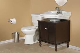 sinkwrap easy to assemble bath vanity for pedestal sinks wrap