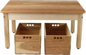 cherry wood kids desk cherry maple child s play table with two cherry storage crates