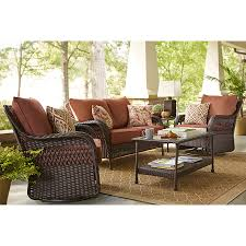 Lowes Garden Treasures Patio Furniture Covers - shop garden treasures glenlee loveseat at lowes com outside