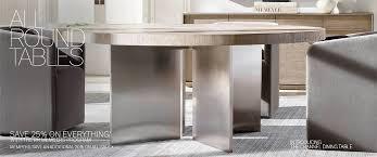 all round tables rh modern