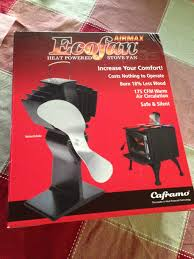 ecofan wood stove fan wood stove fan ecofan 812amxbx airmax product review country