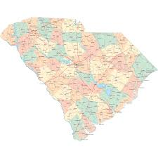 south carolina road map sc road map south carolina highway map