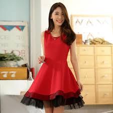 wholesale women casual vest dress k9848 red k9848 13 87 yuki