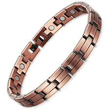 copper bracelet mens images Rainso mens womens magnetic copper bracelets for jpg