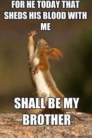 Dramatic Squirrel Meme - my name is shakespeare