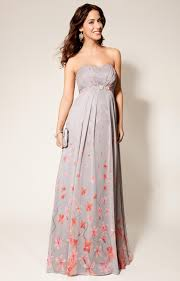 maternity evening wear annabella silk maternity gown blossom maternity wedding