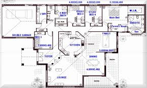 4 bedroom open floor plans 4 bedroom house plans open plan lovely ranch house plans open