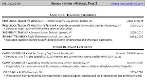 Substitute Teacher Resume Job Description Resume Templates For Teaching Jobs Examples Sample Throughout 15