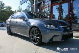lexus gs350 with wheels lexus gs with 20in vossen vfs6 wheels exclusively from butler