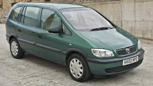 opel green used 2002 vauxhall zafira 1 6 petrol green in bb10 burnley for