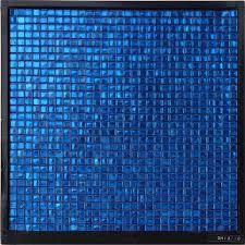 colored foil glass mosaic