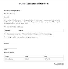 the dividend voucher u2013 freeagent support