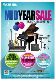 yamaha music mid year sale 2017 yamaha malaysia