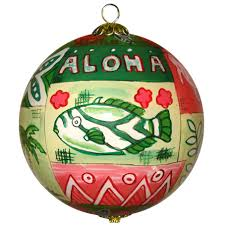hawaiian quilt ornament by design