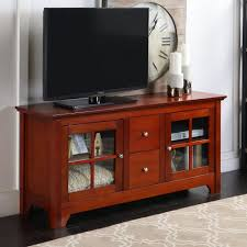 tv stand wooden tv stand with drawers amazon com simpli home