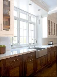 white kitchen cabinets with wood interior wood kitchen cabinets revisited centsational style