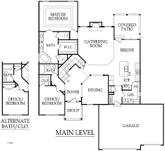 5 bedroom house plans 1 1 5 house plans with walkout basement lovely 1 5 house