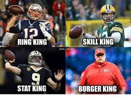 Nfl Meme - 10 ring king skill king memes stat king burger king burger king