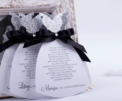 in bridesmaid card bridal party invitations card will you be my bridesmaid card