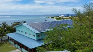 maldives pv hybrid system saves 800 litres of diesel a day sun