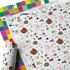 wrapping paper sheets wrapping paper packs assorted wbw designs 18 x 24 sheets