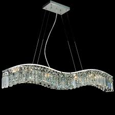 Chrome Crystal Chandelier by Brizzo Lighting Stores 30