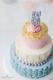 cheery and whimsical birthday cake