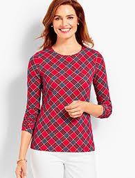 womens tops s t shirts talbots