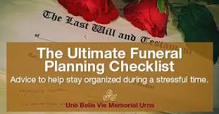 funeral planning checklist funeral planning checklist to help with arrangements