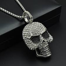 necklace skull images Ice skull necklace aesir design jpg