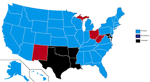 1972 Election Map by United States Presidential Election 1964 Confederate Wipe Out