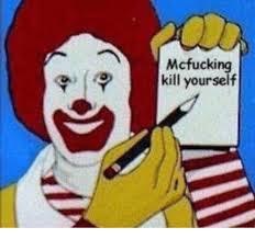 Kill Your Self Meme - mcfucking kill yourself kill yourself meme on me me