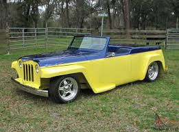 custom willys jeepster willys overland jeepster street rod custom