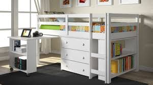 Free Plans For Bunk Beds With Desk by Desks Plans For Bunk Beds Plans For A Loft Bed Loft Bed With
