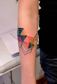 the 14 prettiest geometric tattoos you did see brit co