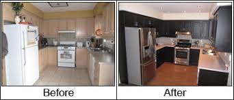 Painted Kitchen Cabinets Before And After by Spray Paint Kitchen Cabinets Exclusive Design 27 Kitchen Painting