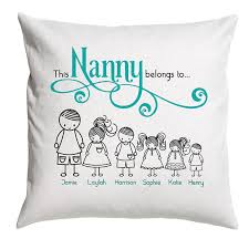 mothers day gift for nanny s day gift nanny cushion cover cushion