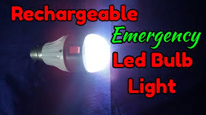 rechargeable light for home how to make emergency led bulb at home rechargeable led l