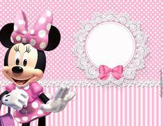 minnie mouse birthday party invitation template free birthday