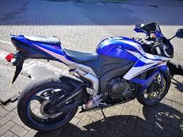honda cbr 600s 2007 honda cbr 600rr 57 600 rr7 new tyre r6 blue white fsh 2