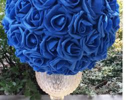 blue centerpieces impressive idea blue centerpieces centerpiece etsy centerpieces