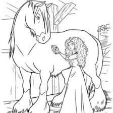 brave horse coloring archives mente beta complete