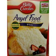 calories in cake mix angel food white from betty crocker