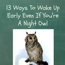 quotes about success and no sleep 13 ways to wake up early even if you u0027re a night owl how to wake