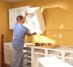 how to hang kitchen wall cabinets hanging kitchen cabinets on wall how to install kitchen cabinets