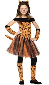 Halloween Costumes Girls 8 10 Tiger Goddess Loria Amazon Tigress Kids Costume