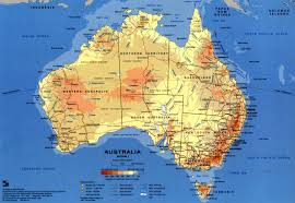 Australian States Map by Travelling To Australia