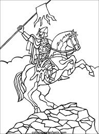 20 dessins de coloriage chevalier à imprimer gratuit à imprimer
